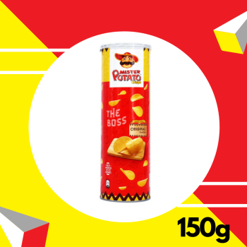 Mr Potato Crisps Original 150gm