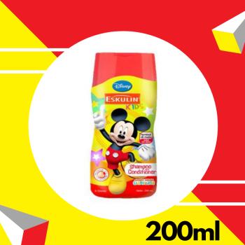 Eskulin Kids Shampoo & Conditioner Orange Mickey 200ml