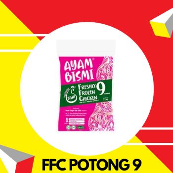 Bismi FFC Potong 9 1.1-1.2kg