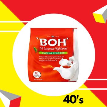 Boh Tea Pot bags 80g