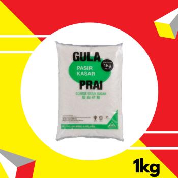 Prai Gula Kasar (Coarse Sugar) 1kg