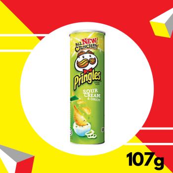 Pringles Sour Cream Onion 107gm