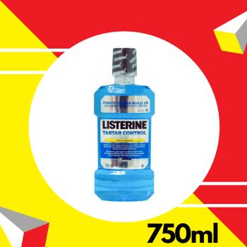 Listerine Tartar Control 750ml