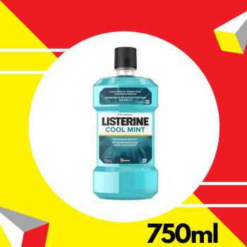 Listerine Cool Mint 750ml
