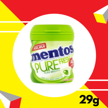 Mentos Pure With Green 29gm
