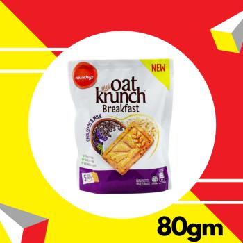 Oat Krunch Breakfast Chia Seed & Milk 80g