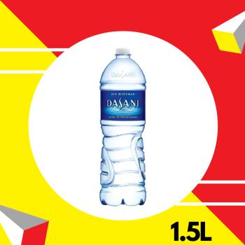 Dasani Drinking - PET 1.5L (Printed Shrink)