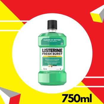 Listerine Fresh Burst 750ml