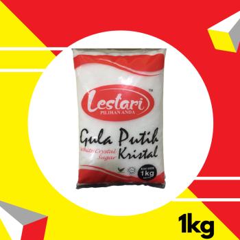 Lestari Gula Putih 1kg