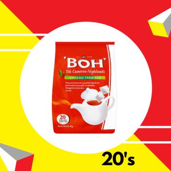 Boh Tea Pot bags 40g
