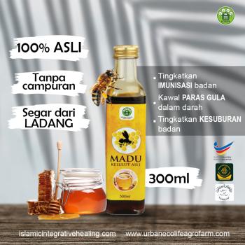 Madu Apis Mellifera 300ml - Urban Ecolife Agrofarm