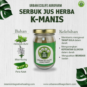 Serbuk Jus Herba K-Manis
