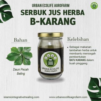 Serbuk Jus Herba B-Karang