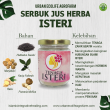 Serbuk Jus Herba Isteri - Urban Ecolife Agrofarm