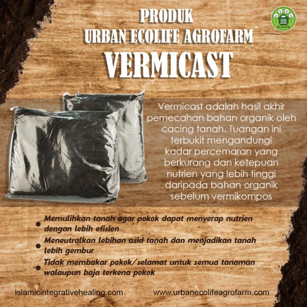 Vermicast - Urban Ecolife Agrofarm