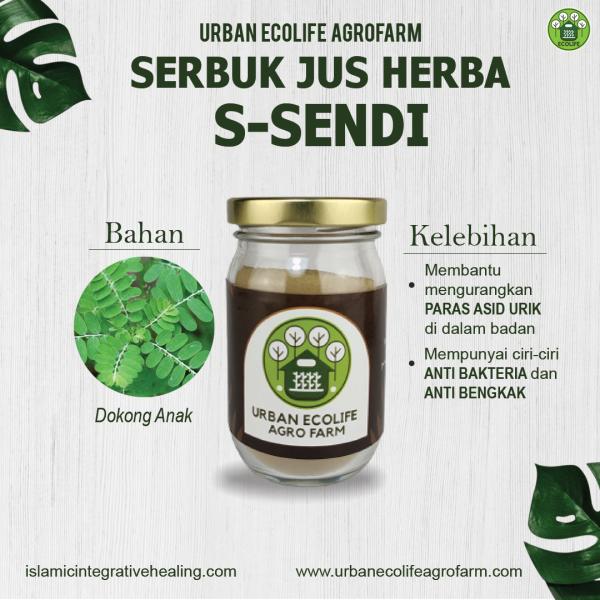Serbuk Jus Herba S-Sendi - Urban Ecolife Agrofarm