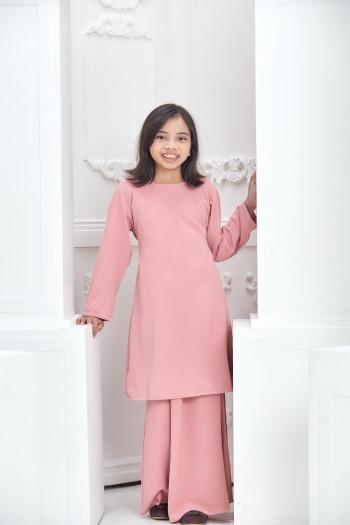 Modern Kurung  - Pink