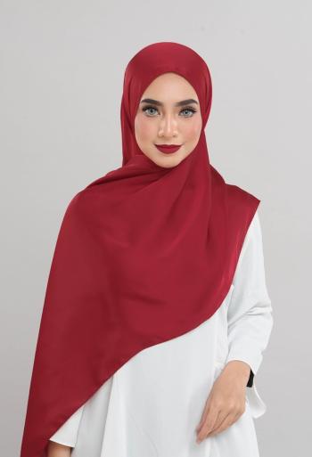 Satin Silk - Scarlet Red - Anggun Chitra