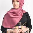 Satin Silk Matte - Raspberry Pink - Anggun Chitra