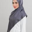 Satin Silk - Platinum Grey - Anggun Chitra