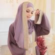 Badra Collection - Dusty Purple  - Anggun Chitra