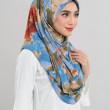 Afiyah - Garden Lily Blue - Anggun Chitra
