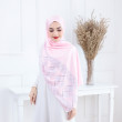 Songket Light Pink - Anggun Chitra