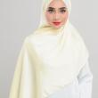 Satin Silk - Baby Yellow - Anggun Chitra