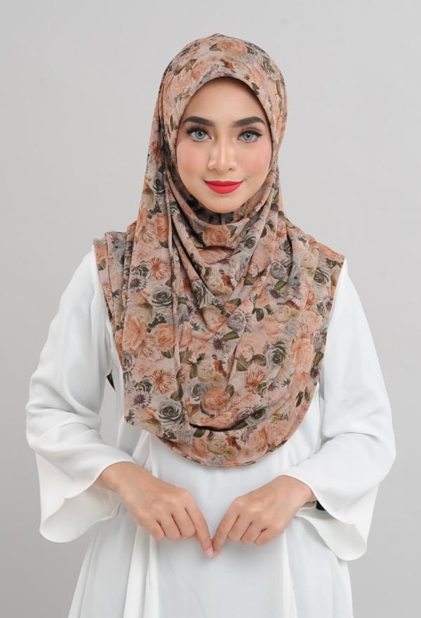 Afiyah - Garden Rose Brown - Anggun Chitra