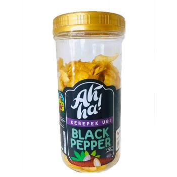 Ah'Ha Kerepek Ubi Black Pepper Jumbo