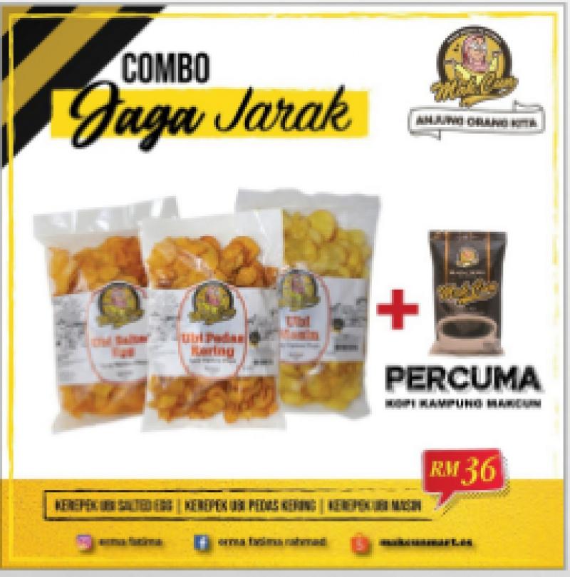 COMBO JAGA JARAK BY MAK CUN [FREE GIFT]