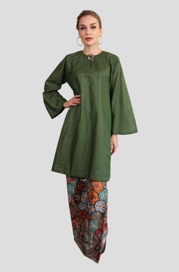 Kurung Manja Mak Cun (Emerald Green)