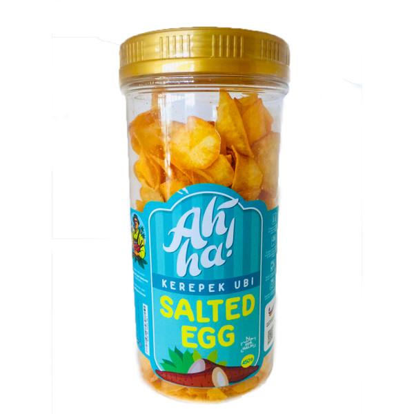 Ah'Ha Kerepek Ubi Salted Egg Jumbo - Mak Cun Mart