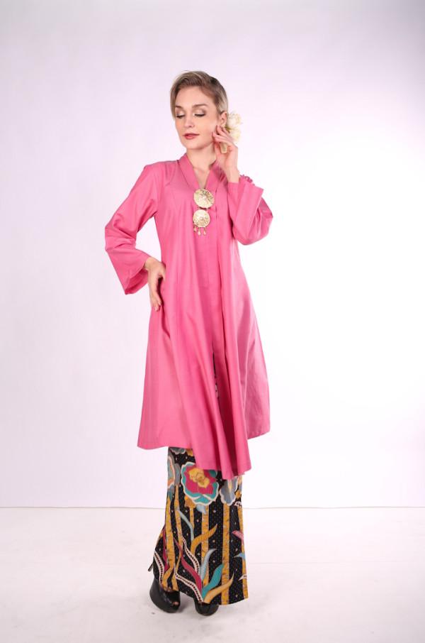 Kebarung Ayu Batik Mak Cun (Pink) - Mak Cun Mart