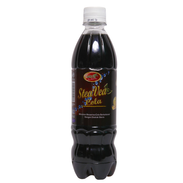 [Stevia Tvia] Karbonat Cola 100% Manis Tanpa Gula - Mak Cun Mart