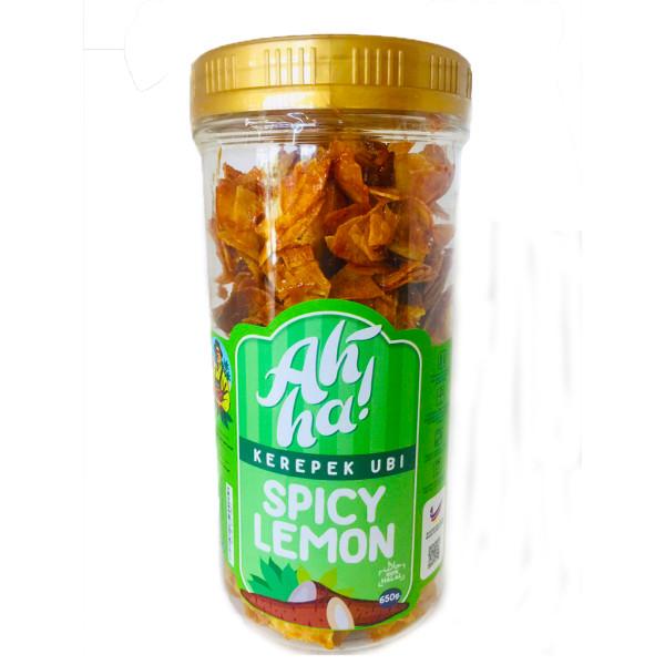 Ah'Ha Kerepek Ubi Spicy Lemon Jumbo - Mak Cun Mart