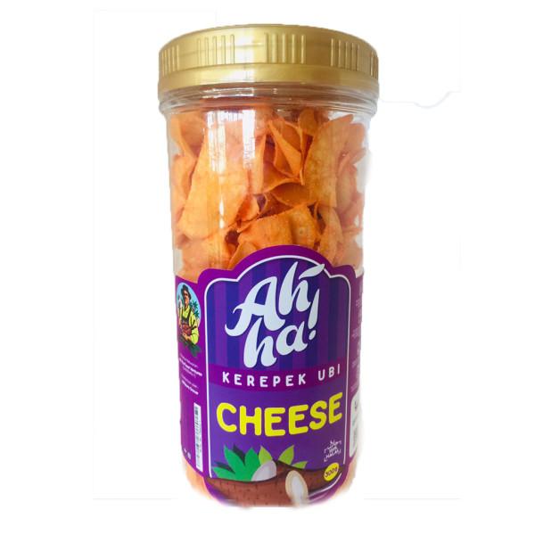 Ah'Ha Kerepek Ubi Cheese Jumbo - Mak Cun Mart