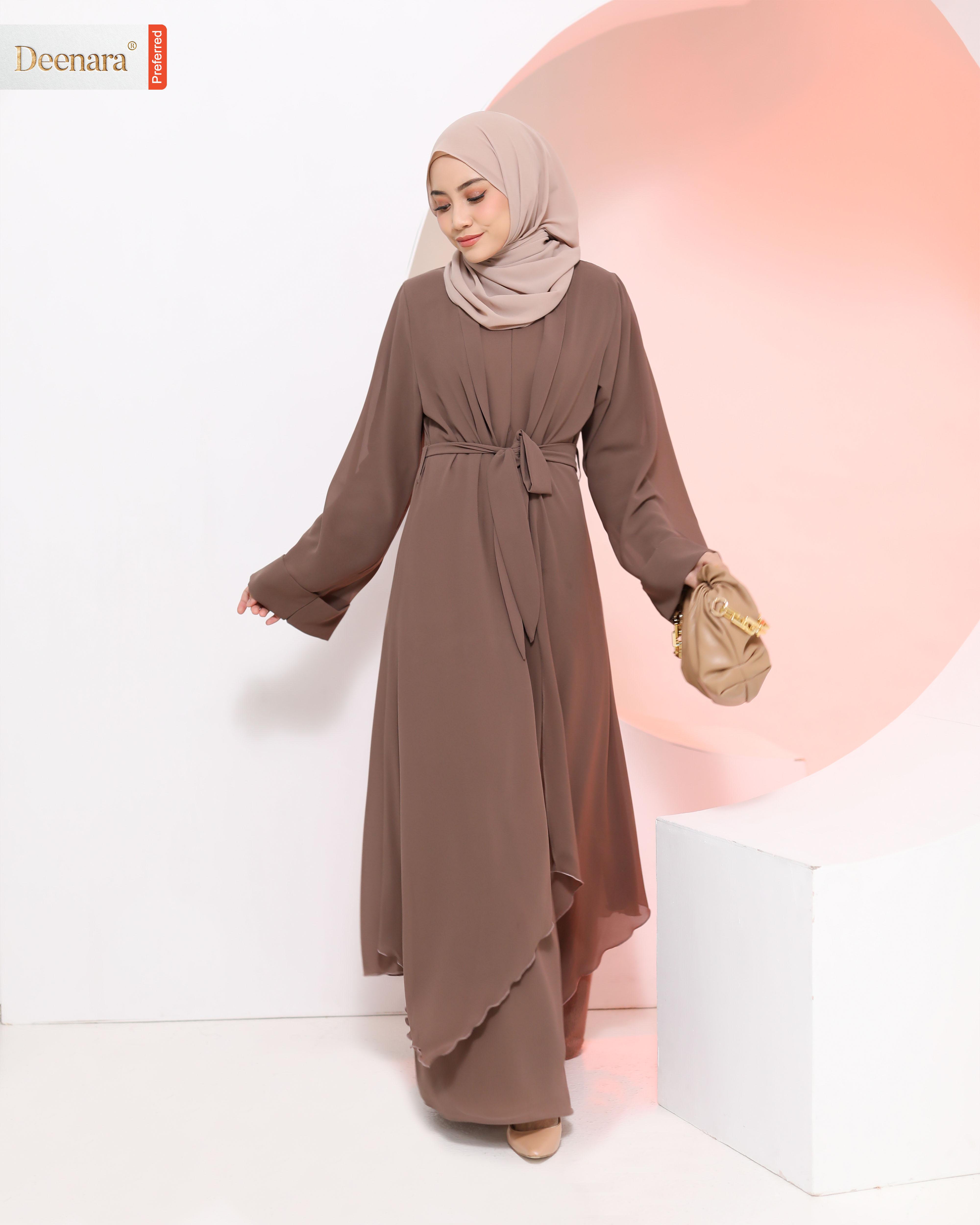 Aafiya Abaya - Cedar Brown