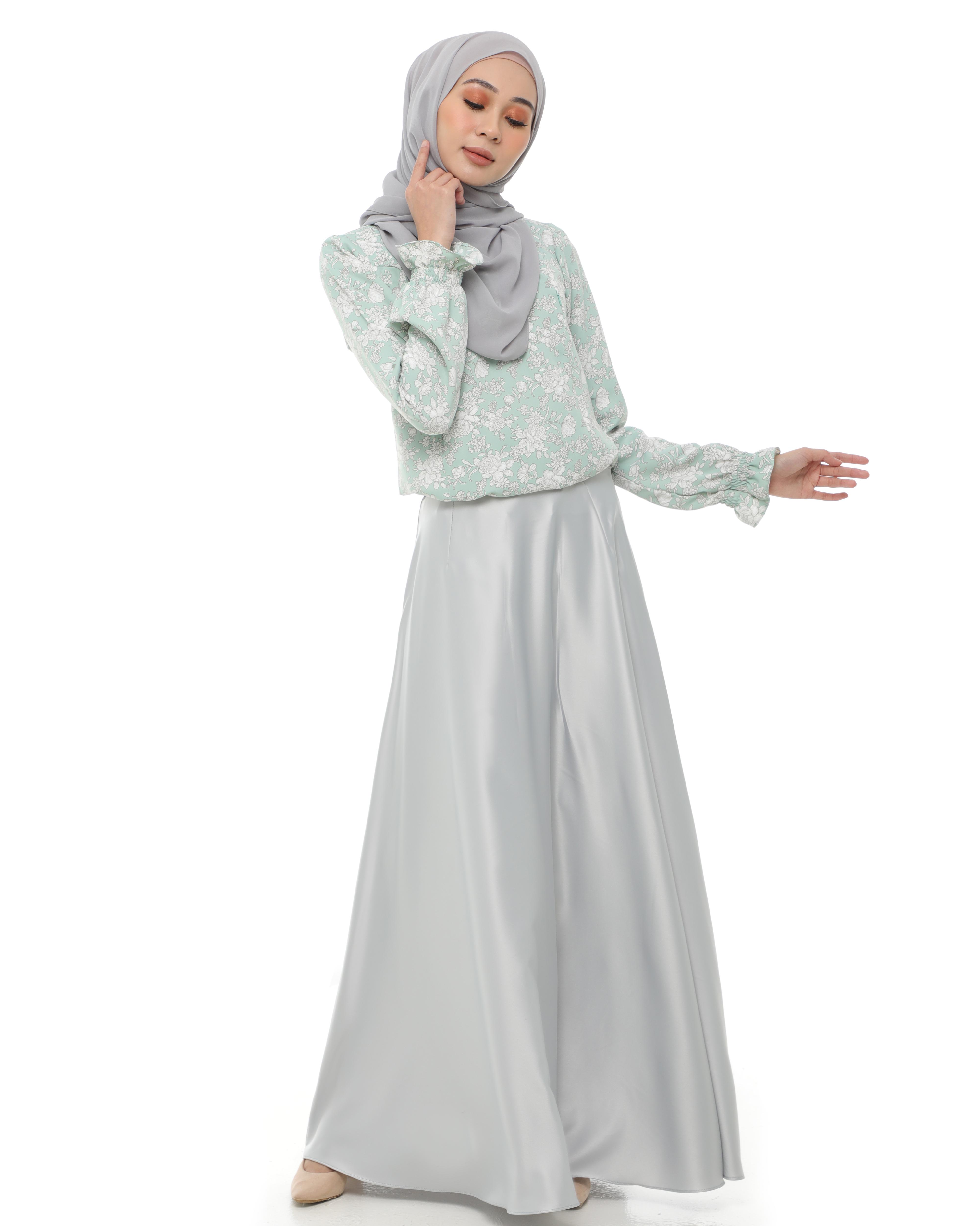Anneta - Silvery Mint