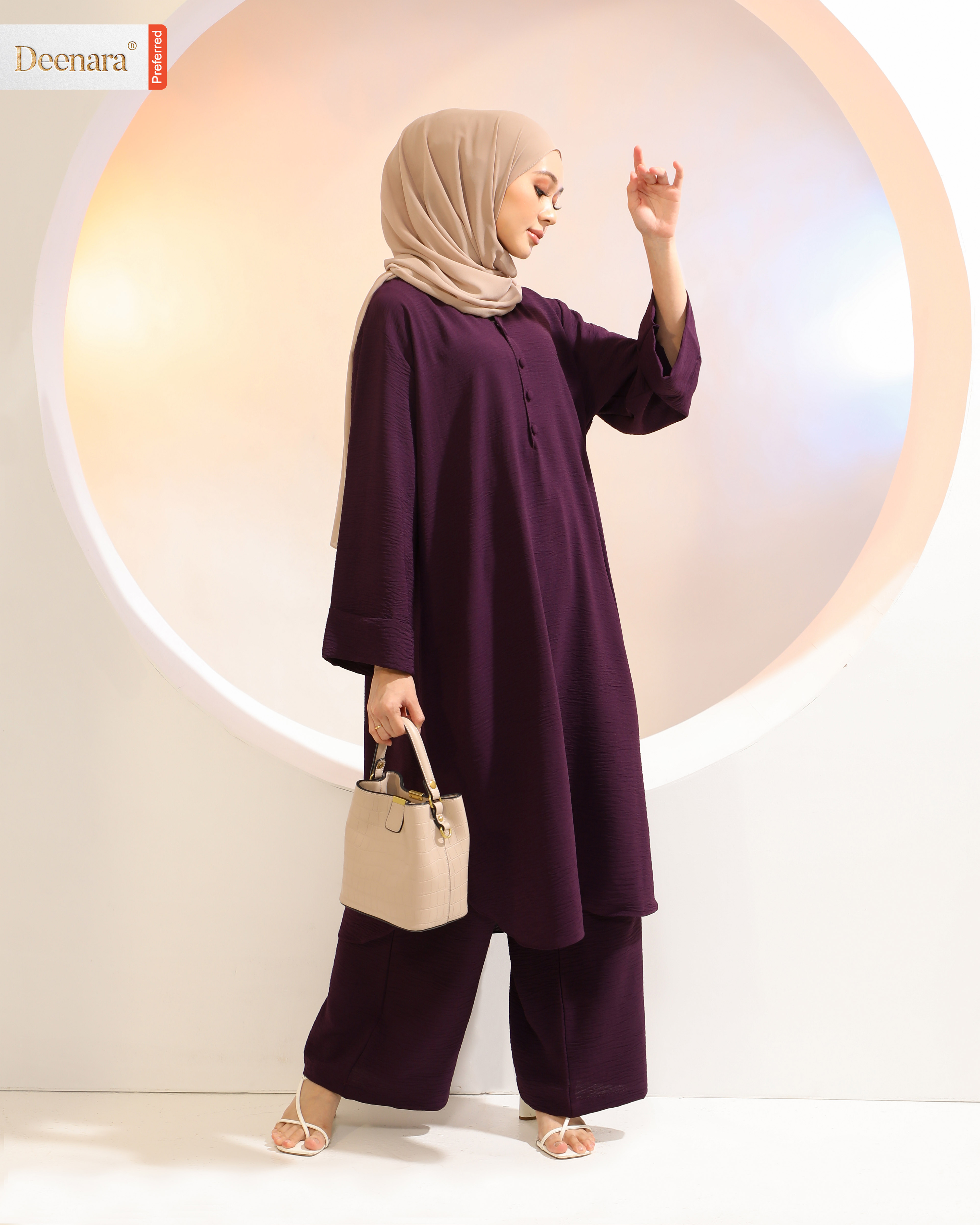 Areya - Dark Purple