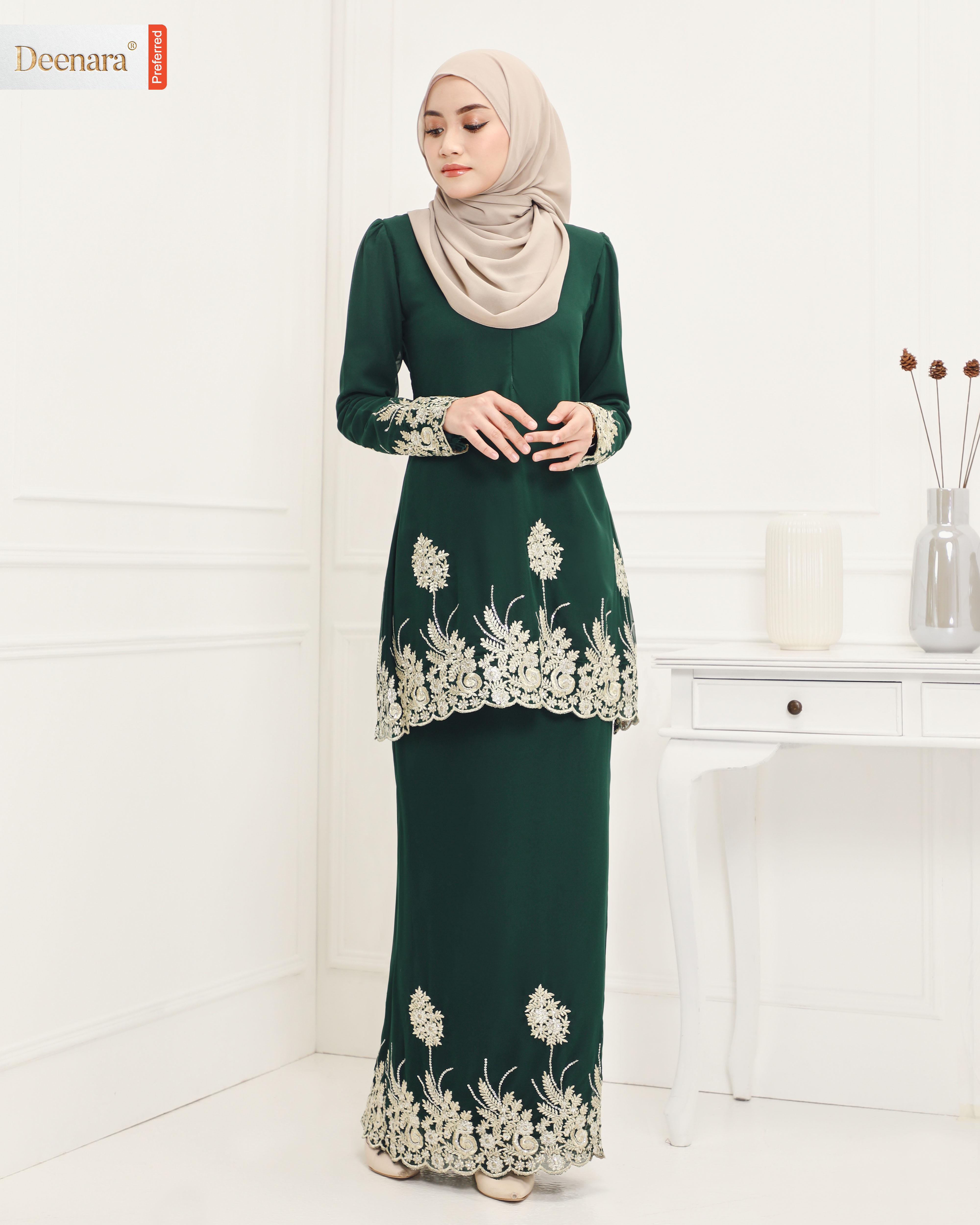 Omaira - Emerald Green