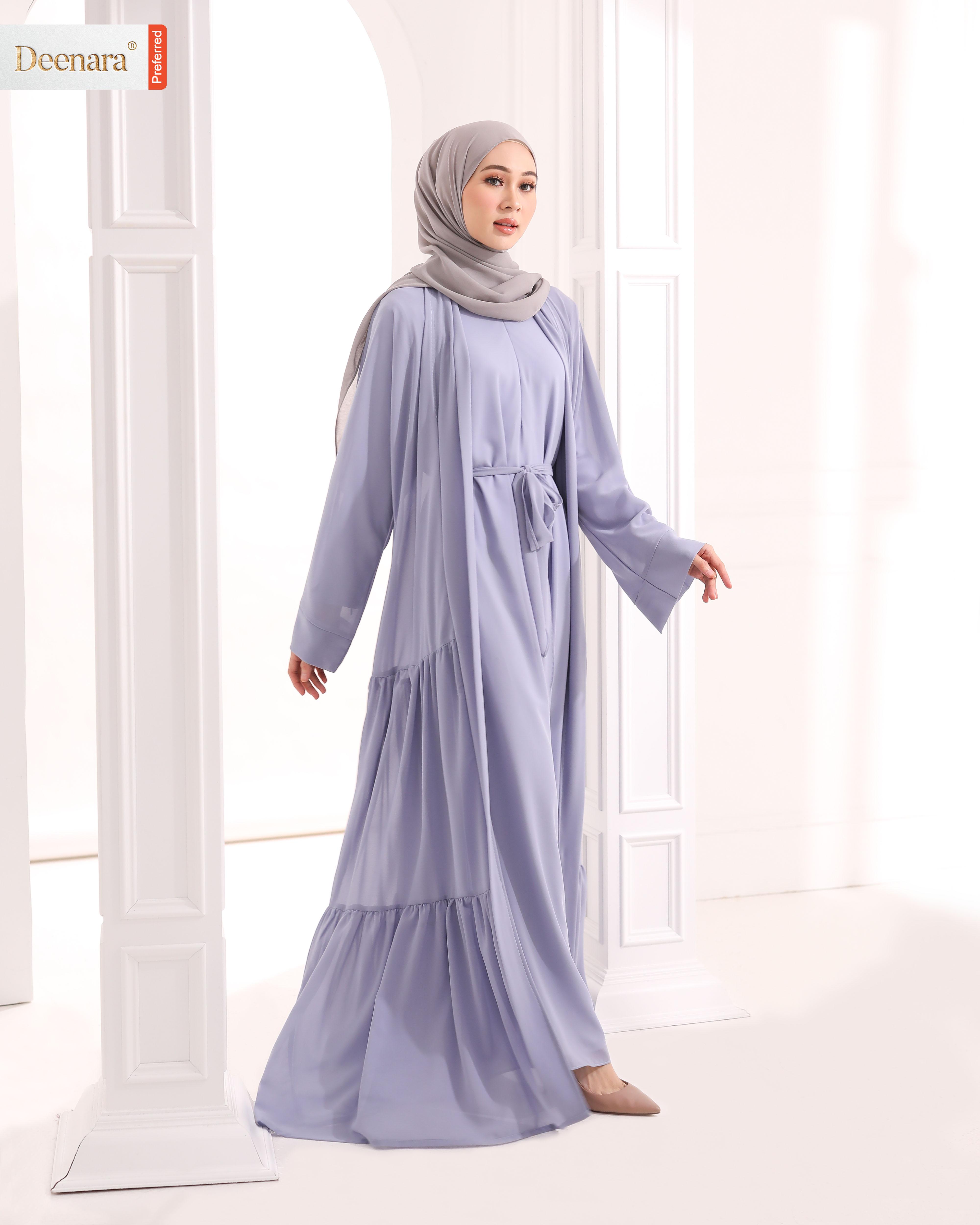 Ameera Abaya - Florentine Blue