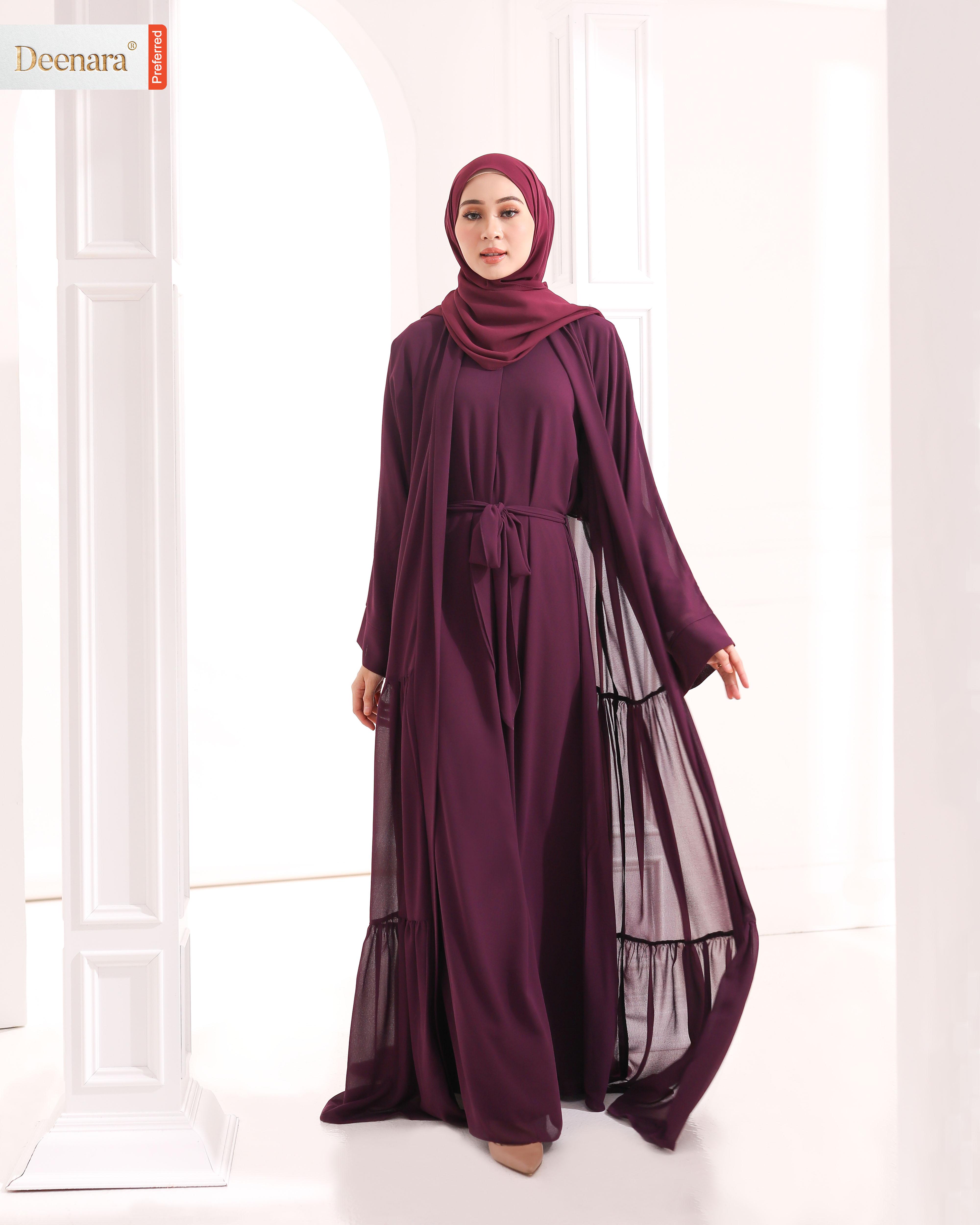 Ameera Abaya - Boysenberry