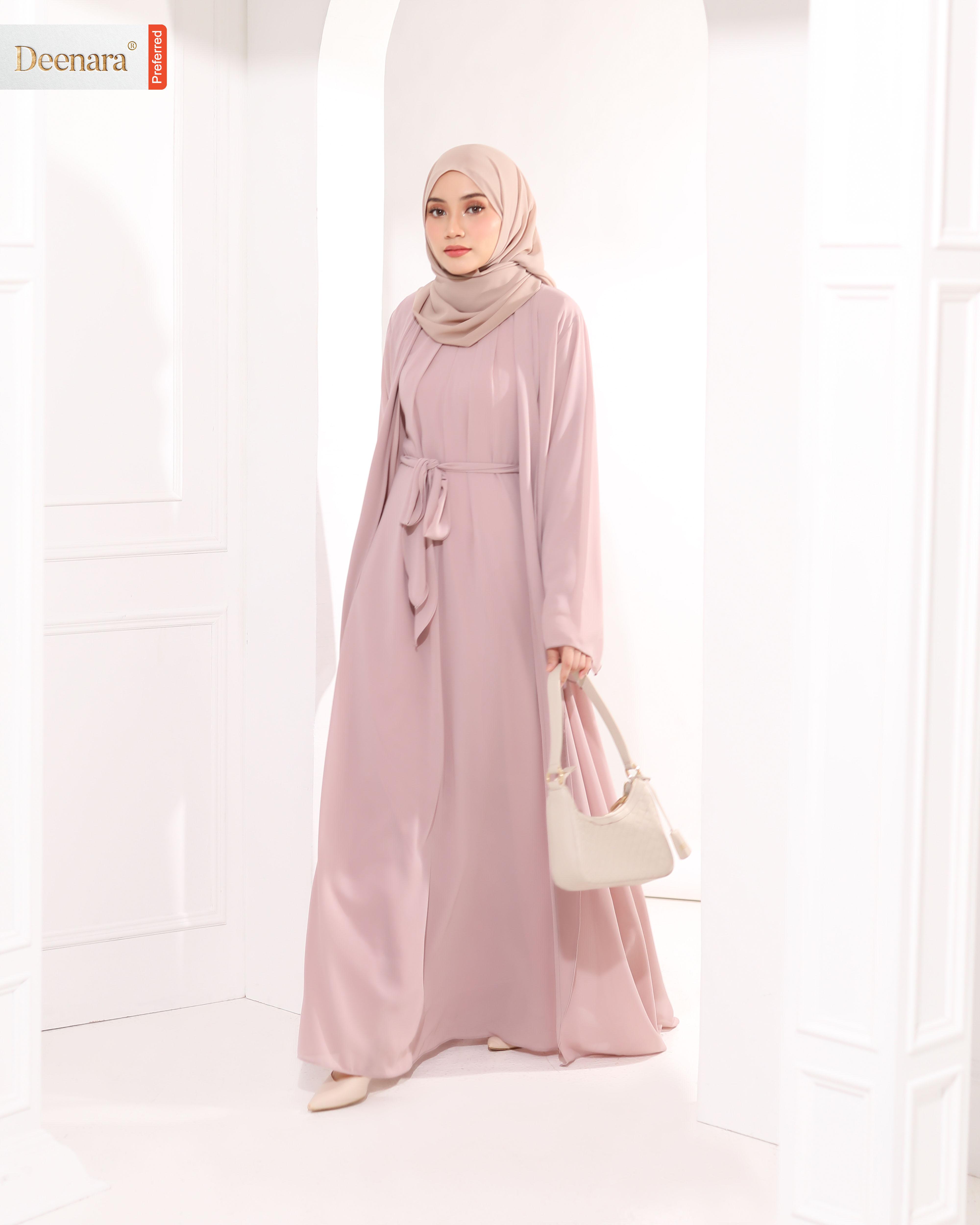 Umayra Abaya - Pastel Rose