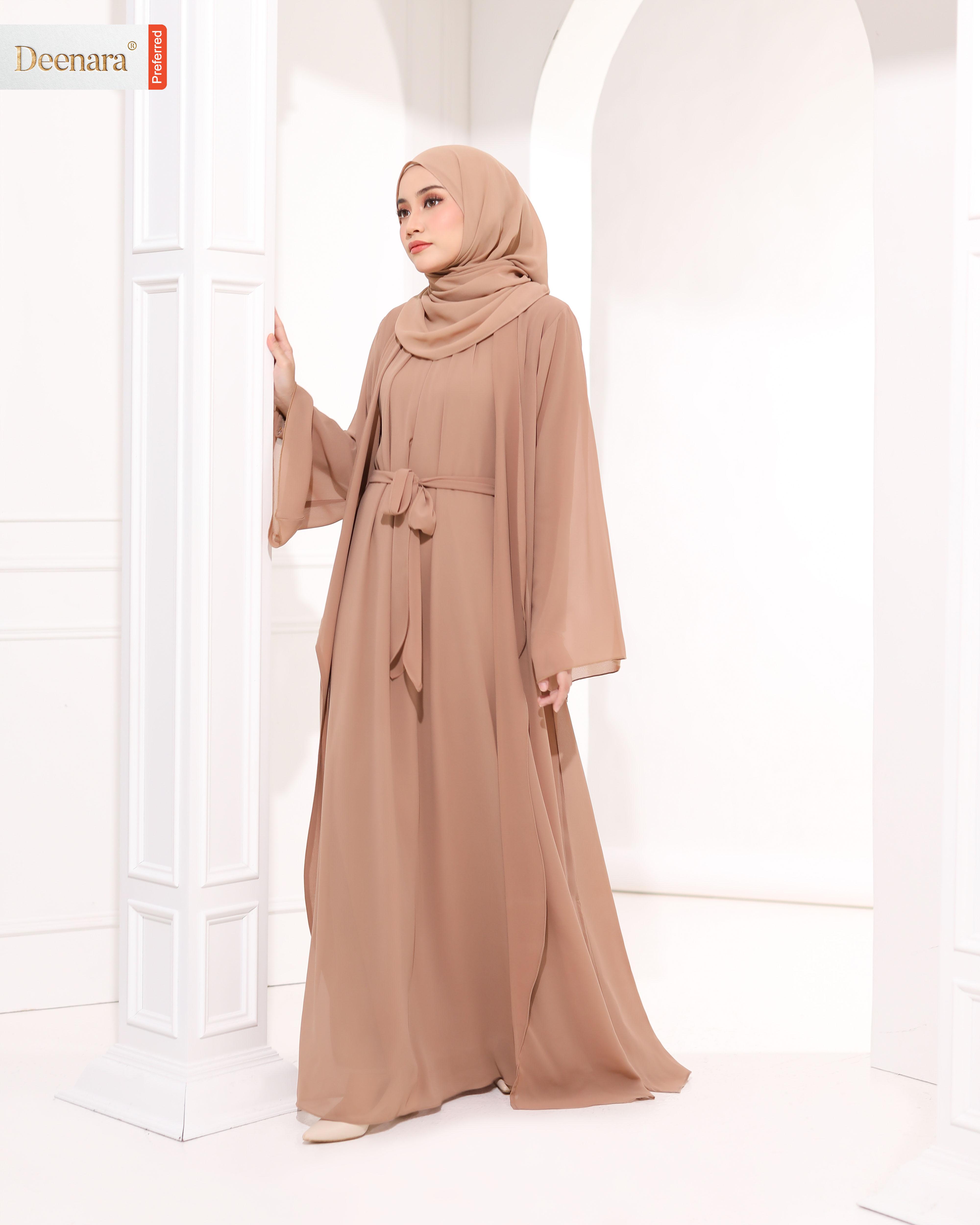 Umayra Abaya - Sepia Brown