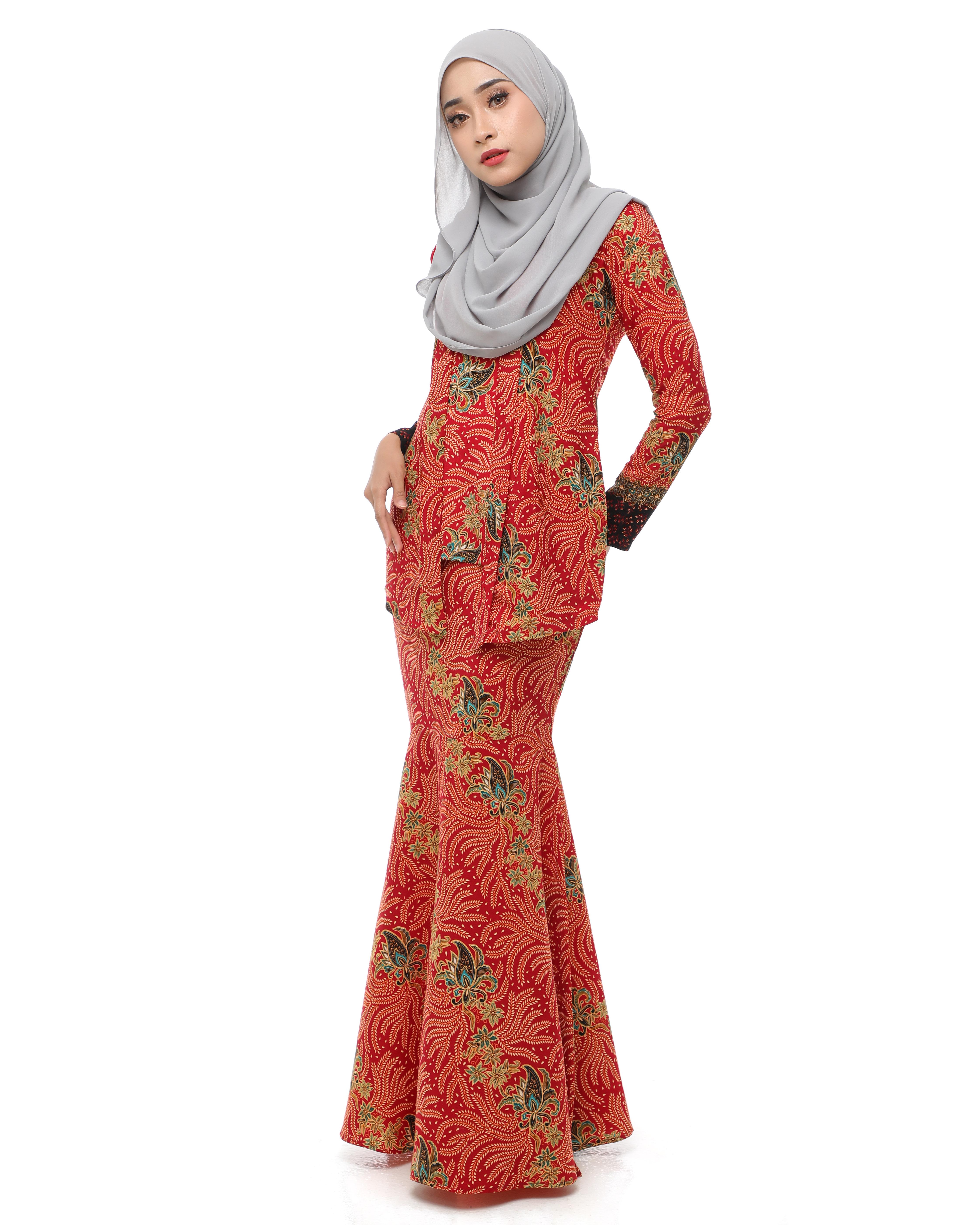 Dewi Batik - Crimson Red