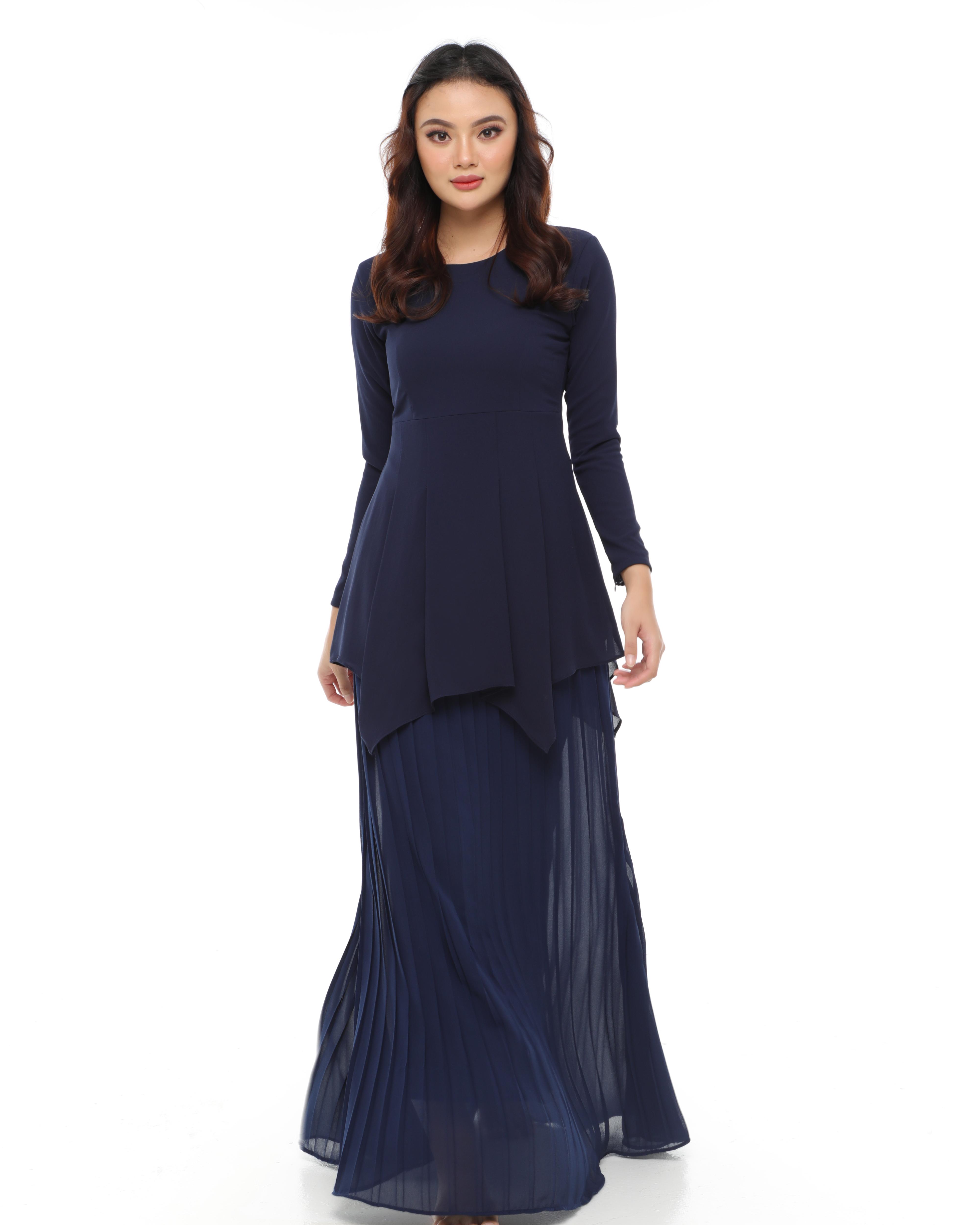 Kasandra - Navy Blue