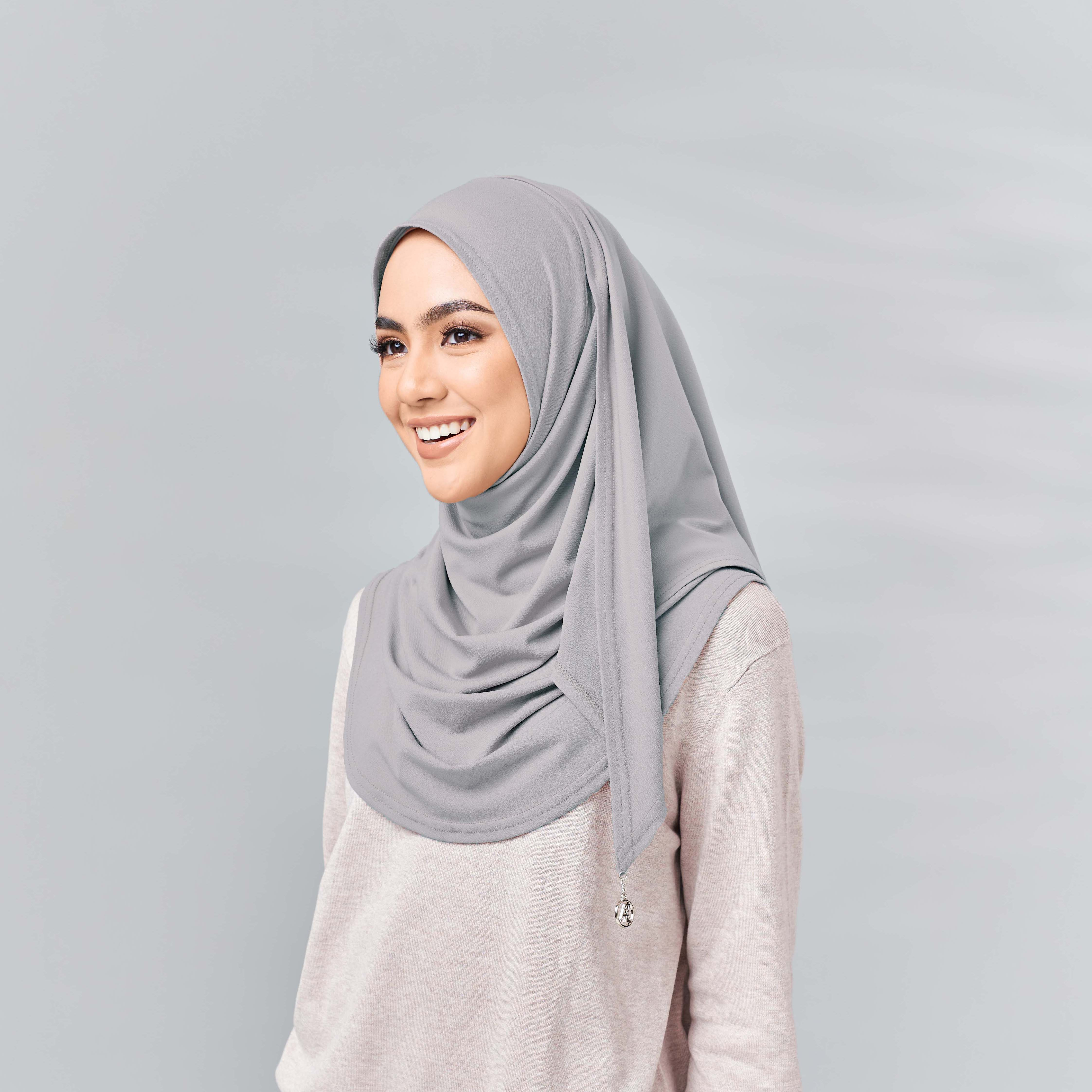 Lisaa Ultra Comfort Scarf Sueve Grey