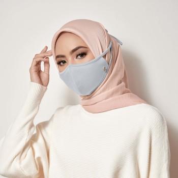AZ Mask Single Tie-On Strap Gray