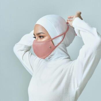 AZ Mask Single Tie-On Strap Rosette